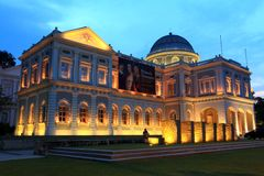 Muzeum Narodowe Singapur Fotografia Stock