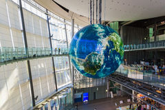 Muzeum Narodowe Wyłaniać się Wyłania się innowację w Odaiba i naukę, Tokio zdjęcie stock