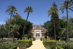 Muzeum popularne sztuki i zwyczaje w Seville zdjęcie royalty free