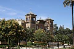 Muzeum popularne sztuki i zwyczaje w Seville fotografia royalty free