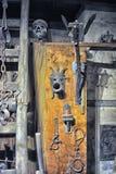 Muzeum Średniowieczni tortura instrumenty Obrazy Royalty Free