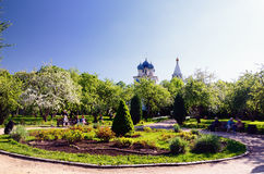Muzeum rezerwa Kolomenskoe, Moskwa, Rosja, w wiośnie Fotografia Royalty Free