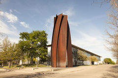 Muzeum sztuka współczesna w Fort Worth, Teksas Zdjęcia Stock