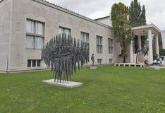 Muzeum sztuka współczesna w Ljubljana, Slovenia Obrazy Stock