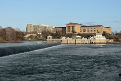 muzeum sztuki Philadelphia obrazy stock