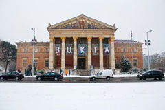 Muzeum sztuki piękna. Budapest, Węgry Obrazy Royalty Free