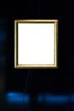 Muzeum Sztuki rocznika obrazu Ramowego Ozdobnego obrazka Pusty ścinek Obrazy Stock