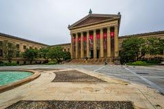Muzeum sztuki w Filadelfia, Pennsylwania zdjęcia stock