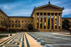Muzeum sztuki w Filadelfia, Pennsylwania Zdjęcia Royalty Free