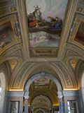 muzeum Watykanu obrazy stock