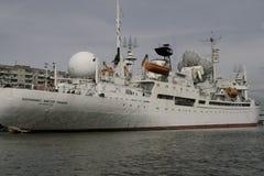 Muzeum światowy ocean w Kaliningrad bulwarze dziejowa flota Obrazy Royalty Free