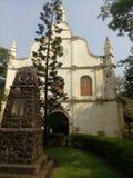 muzeum wielki Vasco De Gama w kerela Kochi kościół zdjęcie royalty free