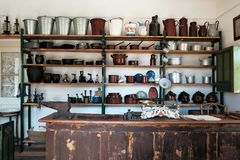 Free `Muzeum Wsi Lubelskiej` Open Air Village Museum In Lublin, Poland, 09/04/2019 Interior Of Old Eastern European Hardware Store In Stock Photo - 158410230