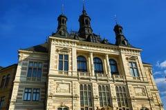 Muzeum Zachodnia cyganeria w Pilsen, Stara architektura, Pilsen, republika czech Fotografia Stock