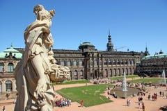 muzeum zwinger Zdjęcia Royalty Free