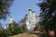 Muzhskoy monastyr svyato-Pokrovskiy Στοκ Φωτογραφίες