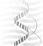 Muzic royalty-vrije illustratie