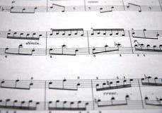 Muziek Stock Fotografie