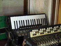 Muziek accordeon stock foto