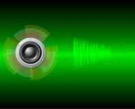 muziek achtergrond Stock Fotografie