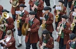 Muziek-band Unlingen #2 Stock Afbeelding