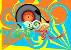 Muziek BG Stock Illustratie