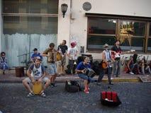Muziek bij de straat Stock Afbeelding