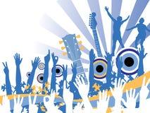 Muziek Celebration.jpg stock illustratie