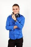 Muziek DJ royalty-vrije stock afbeelding