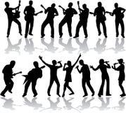 Muziek en lied Stock Foto