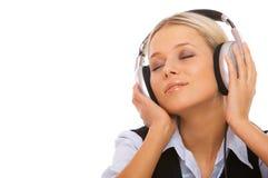 Muziek en me Royalty-vrije Stock Foto