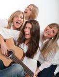 Muziek en Pret Stock Foto