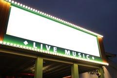 Muziek Marque Royalty-vrije Stock Foto's