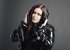 Muziek-meisje royalty-vrije stock fotografie