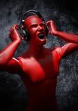 Muziek om uw mening te blazen Royalty-vrije Stock Fotografie