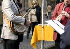 Muziek op de straat Stock Foto's