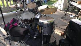 Muziek op Gazebo stock videobeelden
