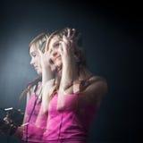 Muziek tevreden! Royalty-vrije Stock Foto