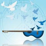 Muziek van vrede Stock Foto