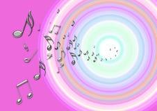 Muziek van ziel Stock Foto's