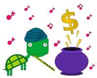 Muziek voor winst royalty-vrije illustratie