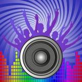 Muziekachtergrond Stock Foto's