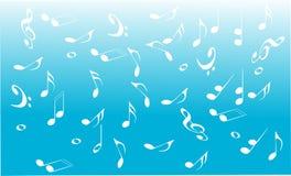 Muziekachtergrond Royalty-vrije Stock Afbeeldingen