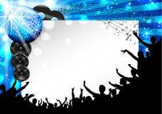 Muziekachtergrond - Vector Stock Foto