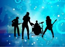 Muziekband Royalty-vrije Stock Afbeeldingen