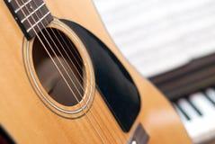 Muziekcollage Stock Afbeeldingen