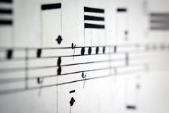 Muziekdetail Stock Fotografie