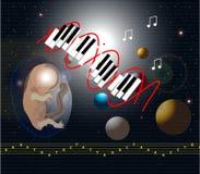 Muziekdna Stock Foto's