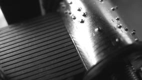 Muziekdoos. Close-up. Naadloos stock footage