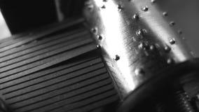 Muziekdoos. Close-up. Naadloos stock video